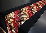 KIMONO table runner Japanese traditional fabrics Kinran (Pattern name: Ougi)