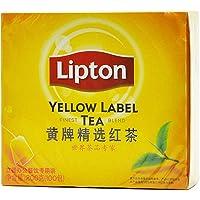 Lipton/立顿红茶包 黄牌精选红茶200g 袋泡茶2g*100袋 办公餐饮装