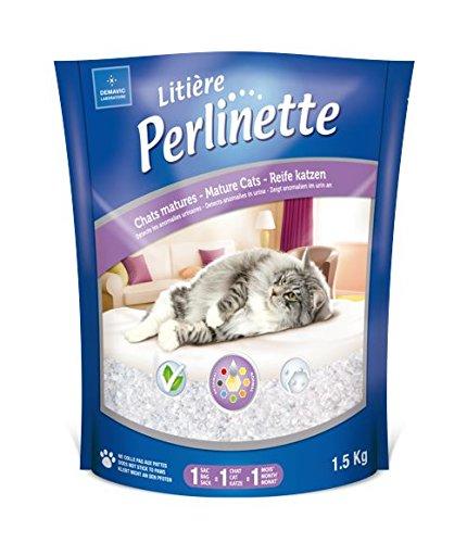 Perlinette Arena para gatos sílice con indicador de salud para gatos adultos, 1,5 kg: Amazon.es: Productos para mascotas