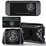 Ci-Yu-Online VINYL SKIN [NS] Monster Hunter XX Black STICKER DECAL COVER for Nintendo Switch Console and Joy-Con Controllers For Sale