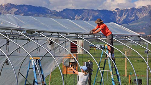 SUNSCOVER Greenhouse Plastic Film Clear Polyethylene Cover UV Resistant, 10 ft Wide x 25 ft Long by SUNSCOVER (Image #4)