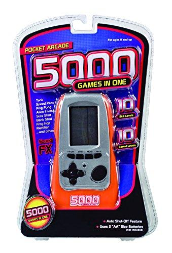Electronic Arcade 5000 Game (1 Player), Orange