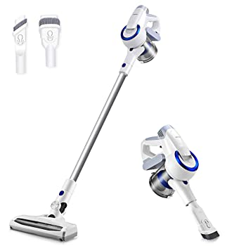 Vanergy Pearl While 2 in 1 Cordless Stick Vacuum