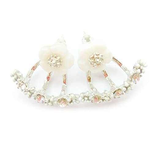 3a71ece13 Amazon.com: Mymate Daisy Flowers Earrings Little Daisy Flower ...