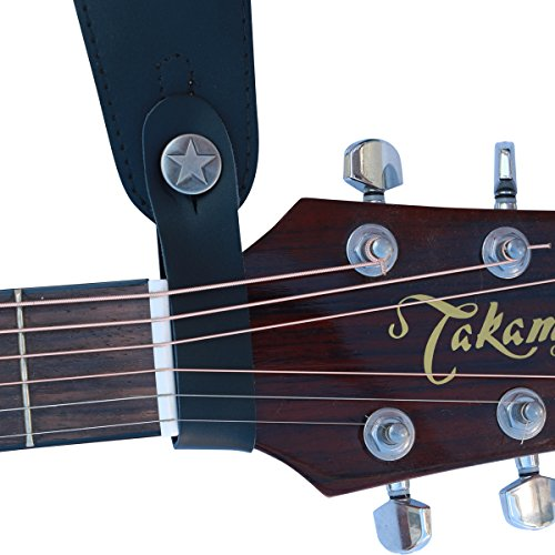 Fretfunk Acoustic Guitar Strap Button (Black)