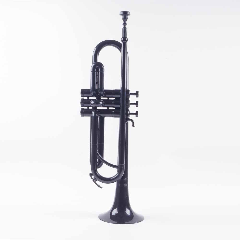 PAMPET Professional Plastic Trumpet Bb trumpet (Black)