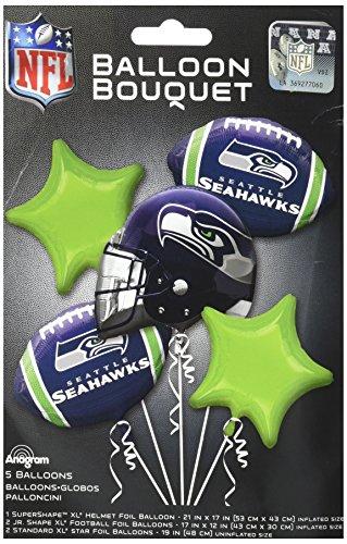 (Anagram Bouquet Seahawks Foil Balloons,)