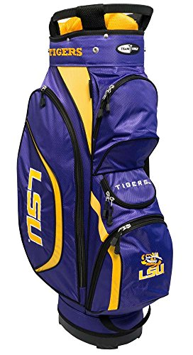 Team Golf NCAA Clubhouse Cart Bag, LSU by Team Golf