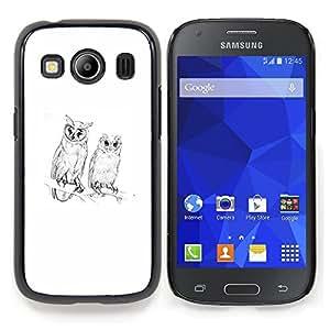 """Planetar ( Polígono Arte Blanca Profundo Significado"""" ) Samsung Galaxy Ace Style LTE/ G357 Fundas Cover Cubre Hard Case Cover"""