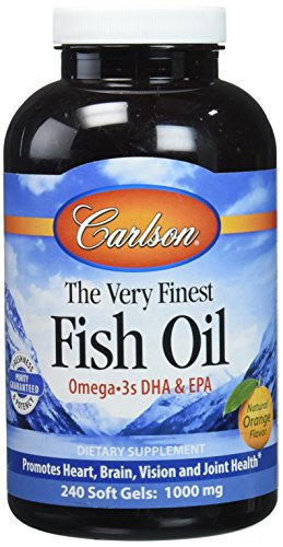 Carlson Labs The Very Finest Fish Oil Orange Chewables by Carlson