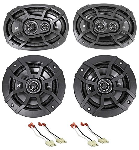 Kicker Door+Rear Factory Speaker Replacement For 1994-2002 Dodge Ram - Factory Replacement Speaker
