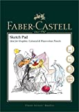 Faber-Castell Art & Graphic Sketch Pad, A4 160 gsm Pad of 40 Sheets