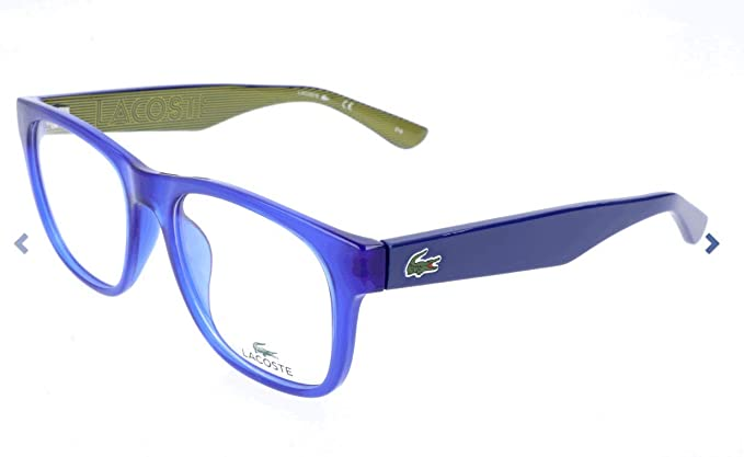 aa86f2b142a Eyeglasses LACOSTE L2771 424 BLUE at Amazon Men s Clothing store