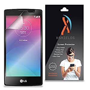 XShields© (3-Pack) Screen Protectors for LG Logos (Ultra Clear)