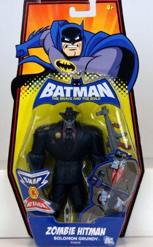DC Batman Brave and the Bold Action Figure Zombie Hitman Solomon Grundy -
