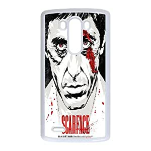 Al-Pacino-Scarface LG G3 Cell Phone Case White SUJ8441417