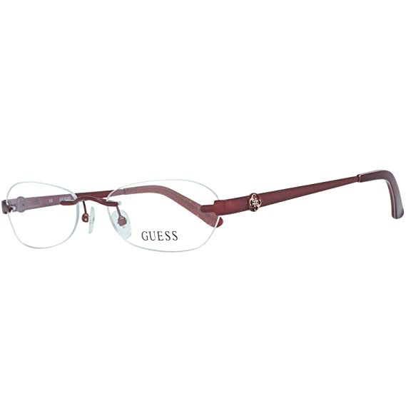 quality design c9be2 9807e Guess Women's Brille Gu2338 F18 53 Optical Frames, Red (Rot), 53.0