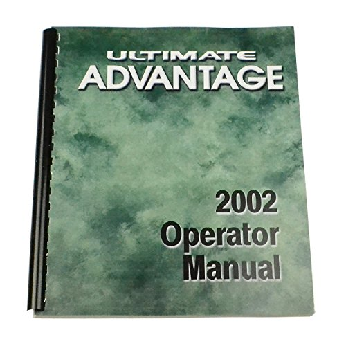 002 Advantage - Winnebago Industries Owner's Manual for 2002 Ultimate Advantage