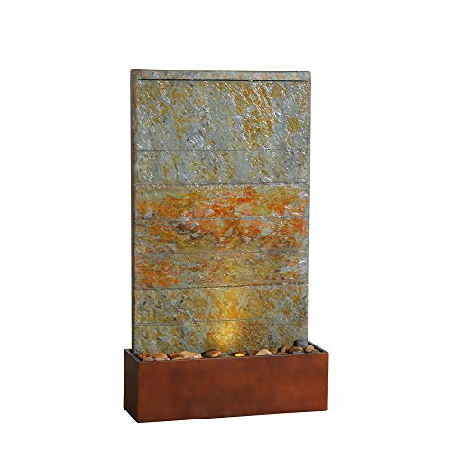 - Kenroy Home Stream Concrete and Slate Floor/Wall Fountain