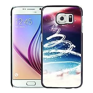 Abstract Christmas Tree Light Hard Plastic Samsung Galaxy S6 G9200 Protective Phone Case