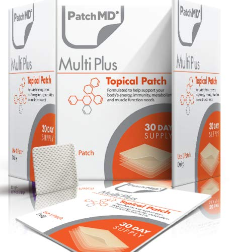 PatchMD Multivitamin Plus Topical Vitamin Patch 60 Day Supply Patch-MD
