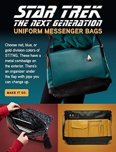 6d25aaa064be Amazon.com  Star Trek Red Uniform Messenger Bag  Computers   Accessories