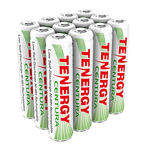 3 Cards: Tenergy 4 Pcs Centura AAA Low Self-Discharge (LSD) NiMH Rechargeable Batteries