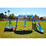 Best Swing Sets - NEW Inspiration 250 Fitness Playground Metal Swing Set Review
