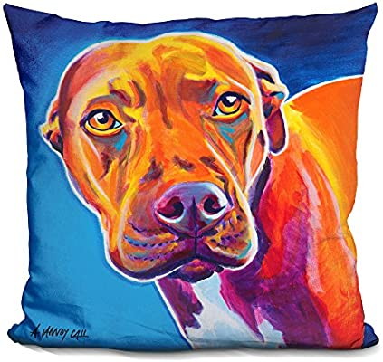 LiLiPi Relief Decorative Accent Throw Pillow