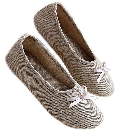 Ladies Women Novelty Velvet Soft Knitted Faux Fur Ballerina Indoor Slippers Gift