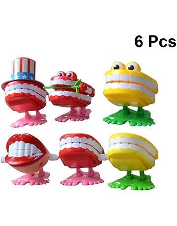 Toyvian 6pcs Enfants Filetage Jouets la/çage Fil Poisson Maison Main Jeu de Puzzle Jeu /éducatif enroulement Jouet