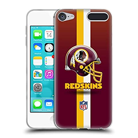Official NFL Helmet Washington Redskins Logo Soft Gel Case for Apple iPod Touch 6G 6th Gen - Ipod Redskin