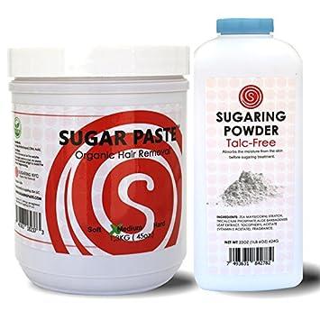 Amazon Com Legs Hair Removal Paste Sugaring Organic Talc Free