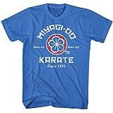 AMC Karate Kid Miyagi-Do Karate Logo Distressed Royal Blue Adult T-Shirt Tee 5X