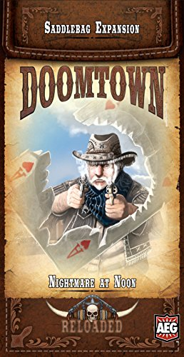 - AEG Doomtown Reloaded Nightmare at Noon Board Game