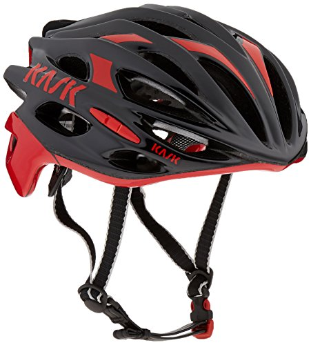 Kask Mojito - Black / Red - X-Large by Kask