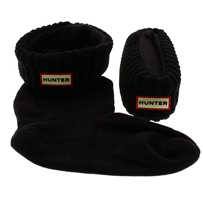Calcetines Botas de Agua Hunter Socks Hals Cardigan Negro: Amazon.es: Zapatos y complementos