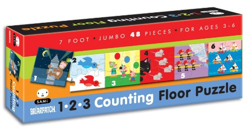 Briarpatch Floor Puzzle - Briarpatch SAMi 123 Counting 7' Floor Puzzle