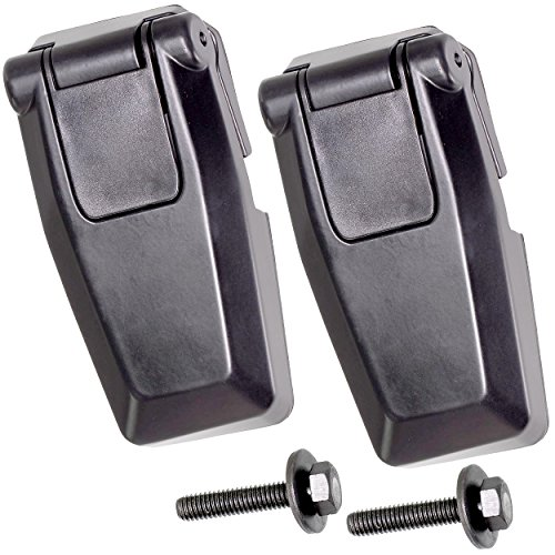 APDTY 140068 Liftgate Back Glass Hatch Hinge Set Rear Left & Right Fits 2008-2012 Jeep Liberty (Replaces 57010061AB, 57010060AB)