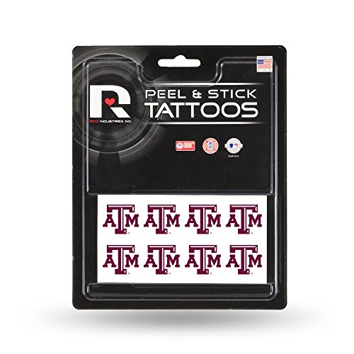 NCAA Texas A&M Aggies Face Tattoos, 8-piece Set