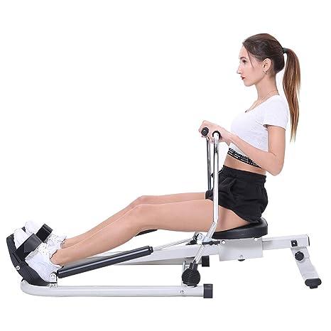 ISE Máquina de Remo Hidráulico Plegable para Fitness, Rowing ...