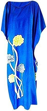 Cool Kaftans New Amazing Dahlia Floral Caftan Dress Long