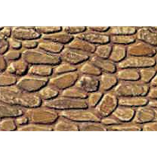 JTT Scenery Products Plastic Pattern Sheets: Field Stone