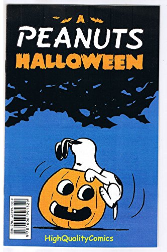 PEANUTS Halloween ashcan, NM-, Promo, Snoopy, Charlie Brown, Lucy, Linus, -