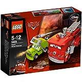 LEGO Cars - 9484 - Jeu de Construction - Le Sauvetage de Red