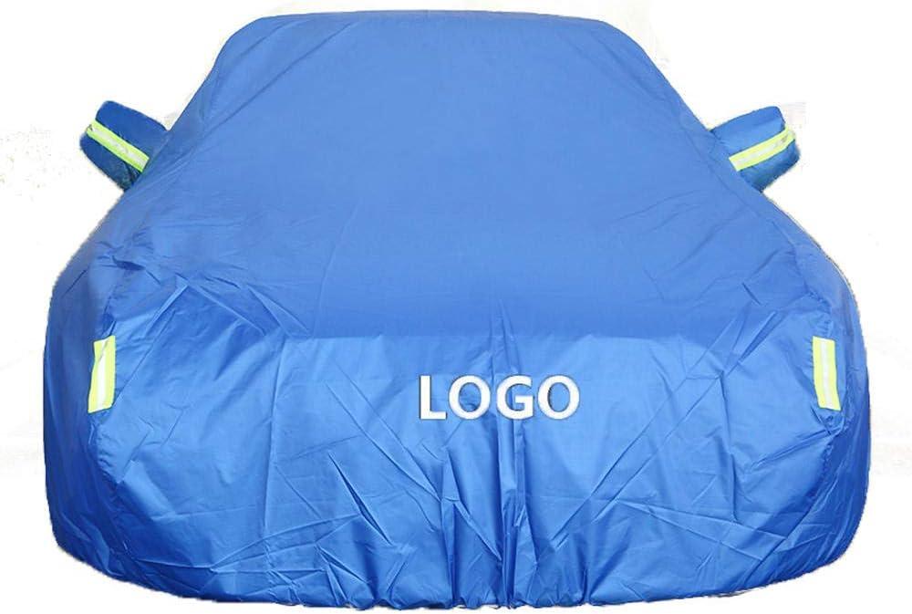 Fertigen Sie Jedes M/ögliches Modell Besonders An Autoabdeckung Kompatibel Mit Audi A1//A3 Sportback//e-tron//Limousine Wasserdicht Atmungsaktiv Oxford Tuch Garage Windschutzscheibenschutz-Autoabdeckung