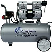 California Air Tools 8010A Aluminum Tank Air Compressor   Ultra Quiet, Oil-Free, 1.0 hp, 8 gal