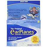 New Super Soft Adult EarPlanes® Ear Plugs Airplane Travel Ear Protection (3)