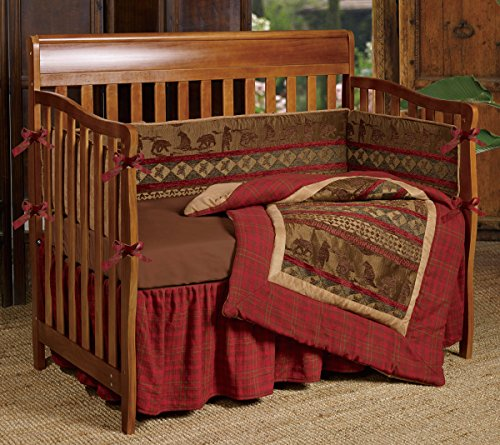 Baby Cascade Lodge Crib Bedding Set