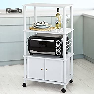 Haotian Microwave Shelf Mini-shelf, Kitchen Appliances Storage Shelf Rack, FRG12